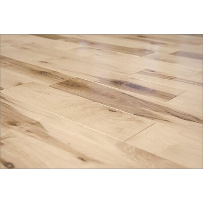 "Jasper Prefinished Semi-Gloss 3-1/4"" Solid Maple in Rustic"