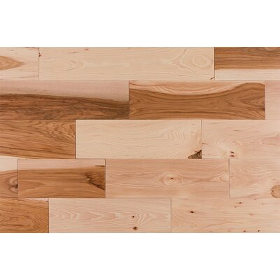 "Jasper 6"" Builder Grade Hickory Flooring in Natural"