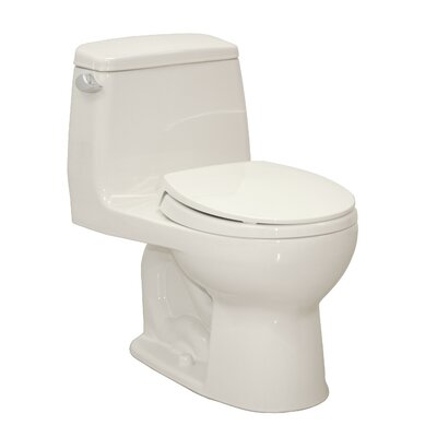Ultimate Power Gravity Low Consumption 1.6 GPF Round 1 Piece Toilet