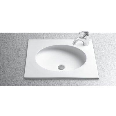 Self rimming bathroom sinks