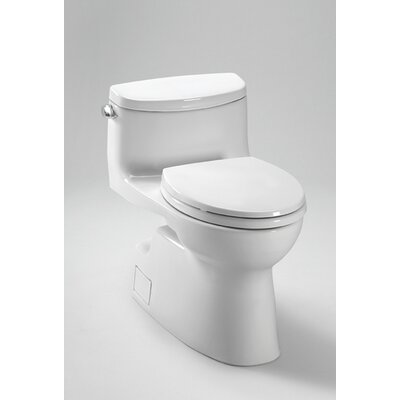 Toto Carolina II High Efficiency 1.28 GPF Elongated 1 Piece Toilet with Sanagloss