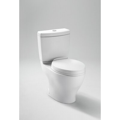 Toto Aquia Dual Flush 1.6 GPF / 0.9 GPF Elongated 2 Piece Toilet