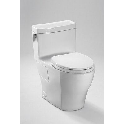 Legato High Efficiency 1.28 GPF Elongated 1 Piece Toilet