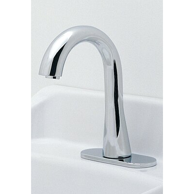 Ecopower Single Hole Electronic Gooseneck Faucet Less Handles with 10 Second Continous ...