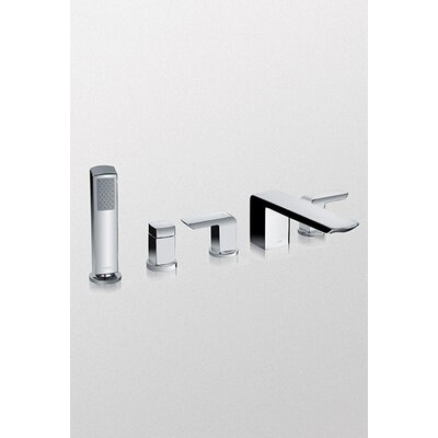 Soiree Widespread Bath Faucet with Double Handles - TB960S1-CP