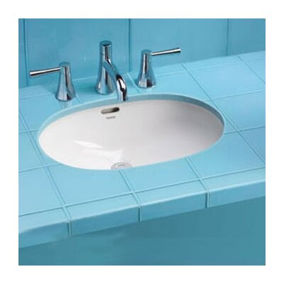 ADA Compliant Rimless Undermount Bathroom Sink with SanaGloss Glazing - LT546G