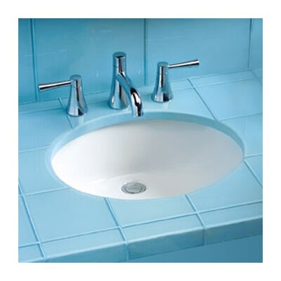 ADA Compliant Undermount Bathroom Sink with SanaGloss Glazing - LT579G
