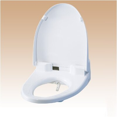 Heated Washlet Round Toilet Seat