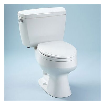 Carusoe Elongated 2 Piece Toilet