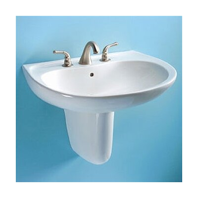 Prominence Wall Mount Bathroom Sink Set with SanaGloss Glazing - LT242 / HT242