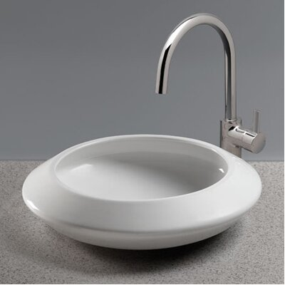 Curva Vessel Bathroom Sink Wayfair