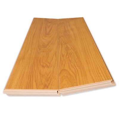 Lamton 12mm Narrow Board Cherry Laminate in American Cherry