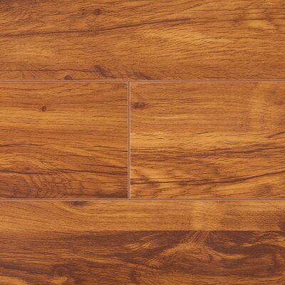 Lamton 12mm Narrow Board Cherry Laminate in Savannah
