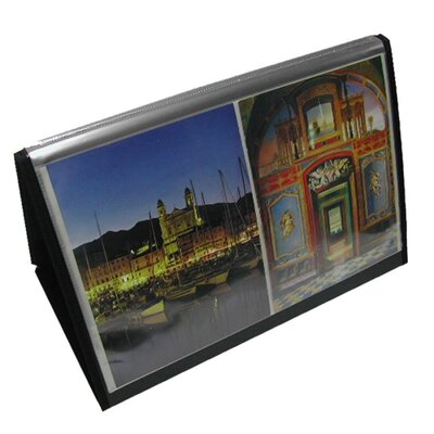 """Lion Office Products Flip-N-Tell Horizontal Easel, 17""""x11"""", Black"""