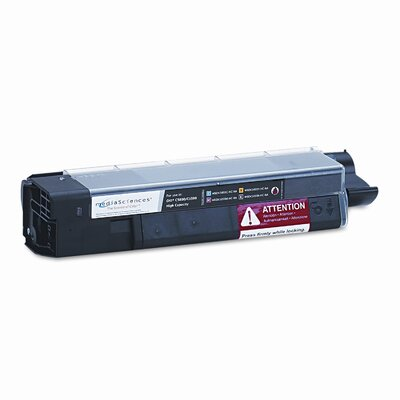 Media Sciences MSOK5855KHC (43324404) Toner Cartridge, High-Yield, Black