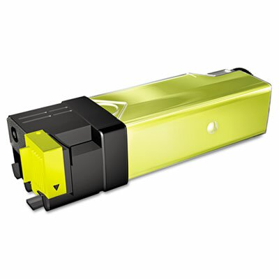 Media Sciences 40076 Compatible High-Yield Toner, 1000 Page-Yield, Yellow