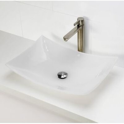 Incandescence Rectangular Vessel Bathroom Sink - 2800