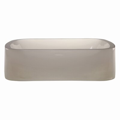 DecoLav Incandescence Rectangular Vessel Bathroom Sink