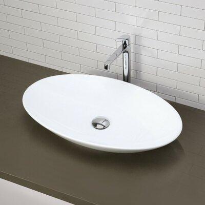 Low profile bathroom sink