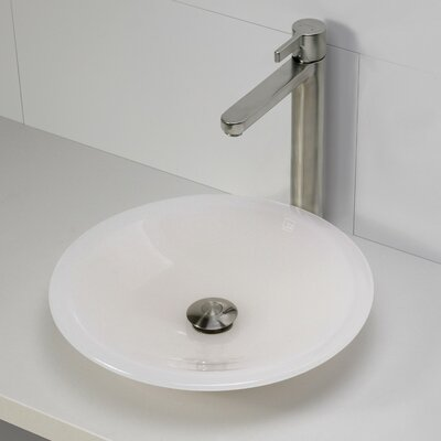 Incandescence Round Vessel Bathroom Sink - 2804