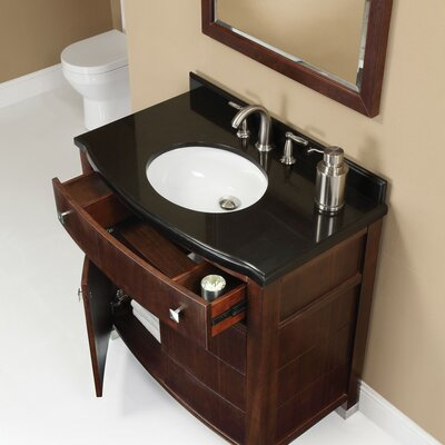 "DecoLav Adrianna 36.25"" Bathroom Vanity Set"