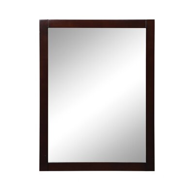 "DecoLav Cameron 24"" x 1"" x 32"" Framed Mirror"