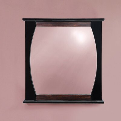 "DecoLav Natasha 32"" H x 30"" W Framed Mirror"