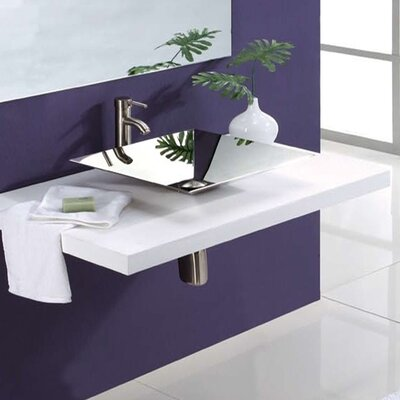 Square Vessel Sink - 1285-P
