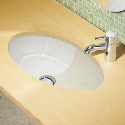 Classically Redefined Undermount Lavatory Bathroom Sink - 1495U-CBN / 1495U-CWH