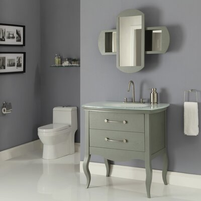 "DecoLav Gabrielle 37"" Bathroom Vanity Set"