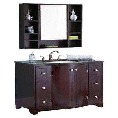 "DecoLav 30"" x 31.5"" Surface Mount Medicine Cabinet"