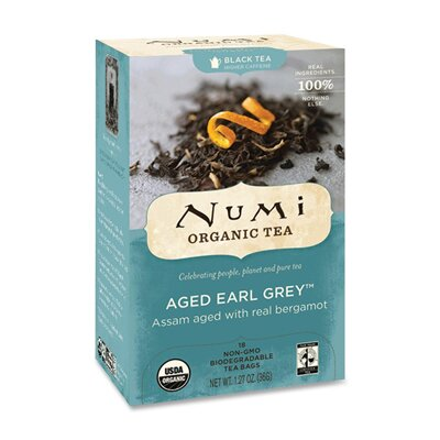 NUMI Organic Tea Teas and Teasans, 1.27 Oz, 18/Box