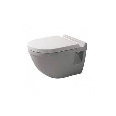 Starck 3 Wall Mounted Round Toilet Bowl Only