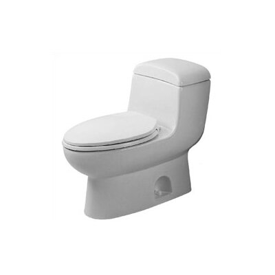 Duravit Metro 1.6 GPF Elongated 1 Piece Toilet
