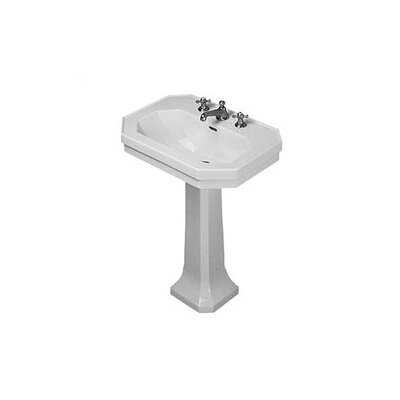 1930 Series Pedestal Bathroom Sink - D10004