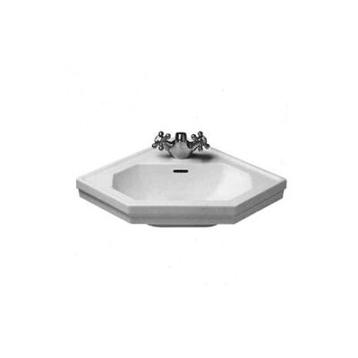 Duravit 1930 Series Wall Mount Corner Sink