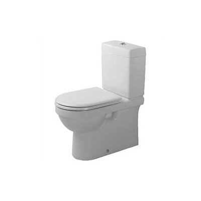 Duravit Happy D. 1.6 GPF Round 2 Piece Toilet