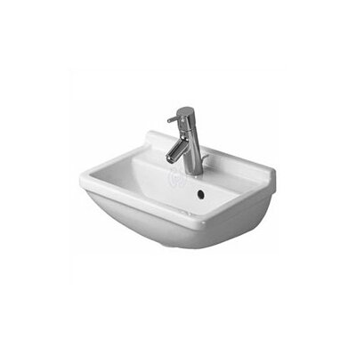 Duravit Starck 3 Handrinse Bathroom Sink