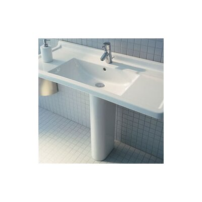 Duravit Starck 3 Pedestal Bathroom Sink