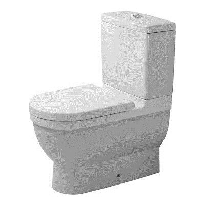 Starck 3 Washdown Round 2 Piece Toilet