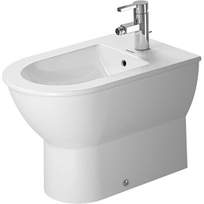 "Duravit Darling New 15.75"" Floor Mount Bidet"
