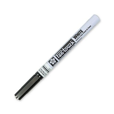 Sakura of America Paint Marker,X-Fine Point,Water/Fade Proof,Nontoxic,White