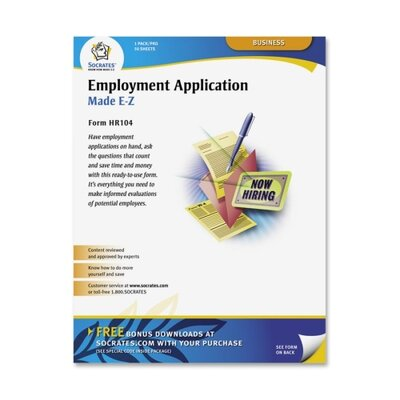 Socrates Media, LLC Employment Application Form, Relevant Information