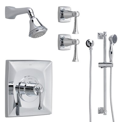 Jado Illume Thermostatic Complete Shower System 00 with Lever Handle