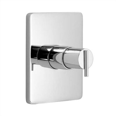 Jado Glance Pressure Balance Shower Valve Trim with Lever Handle and Valve Rough