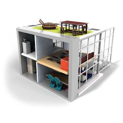 brinca dada Dylan Doll House with Furniture