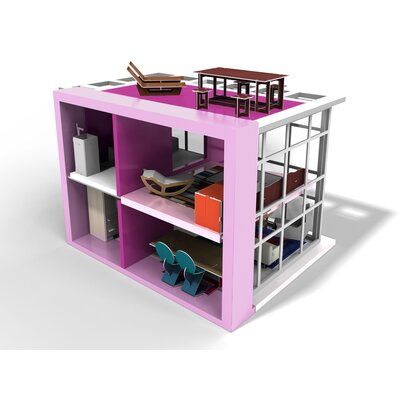 brinca dada Zoe Doll House with Furniture