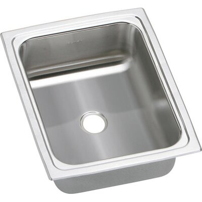 "Elkay Gourmet 12.5"" x 15"" Top Mount Kitchen Sink"