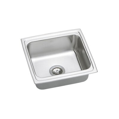 "Elkay Gourmet 19.5"" x 19"" x 10.13"" Top Mount Kitchen Sink"