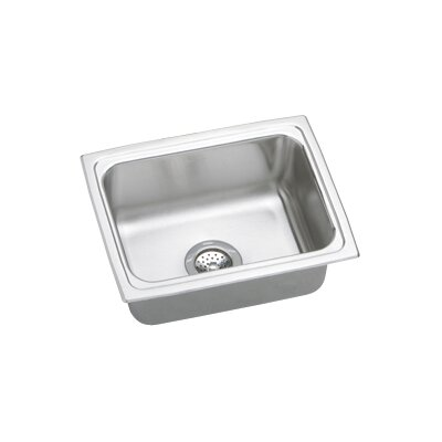 "Elkay Gourmet 25"" x 19.5"" Top Mount Kitchen Sink"